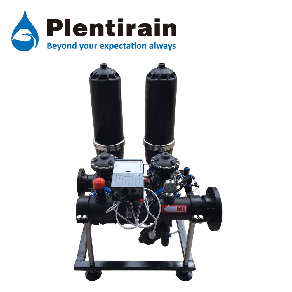 Automatic self-cleaning disc filter sets from China Plentirain